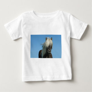 BEAUTIFUL FJORD PONY HORSE STALLION BABY T-Shirt