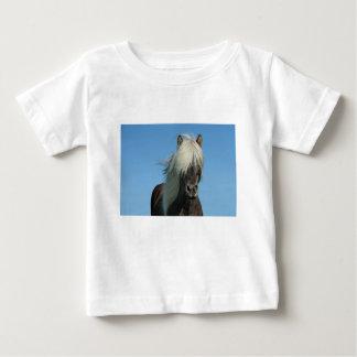 BEAUTIFUL FJORD PONY HORSE STALLION BABY T-Shirt