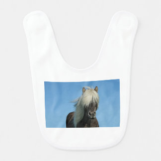 BEAUTIFUL FJORD PONY HORSE STALLION BIB