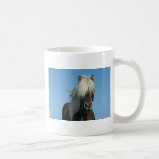 BEAUTIFUL FJORD PONY HORSE STALLION COFFEE MUG