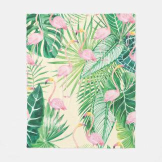 ★ Beautiful Flamingos Fleece Blanket