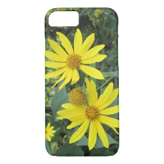 Beautiful Flawed Yellow Wildflowers iPhone 7 Case