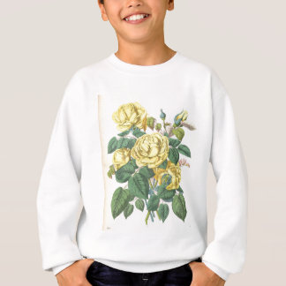 beautiful floral bouquet with spring flowers. sweatshirt