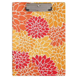 Beautiful Floral Clip Board Clipboard