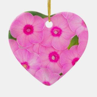 beautiful floral decoration ceramic heart decoration