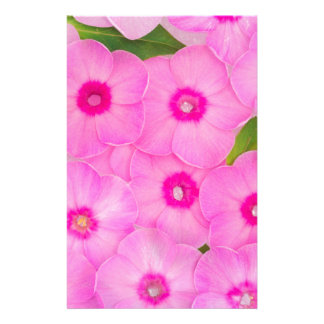 beautiful floral decoration stationery