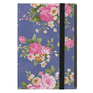 Beautiful floral design case for iPad mini