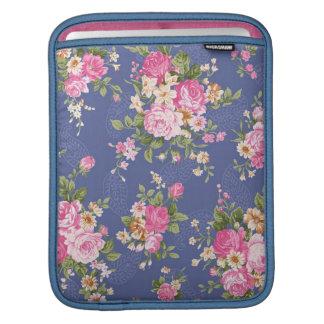 Beautiful floral design iPad sleeve