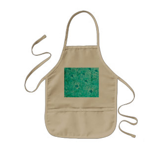 Beautiful floral pattern with leaves kids apron
