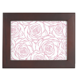 beautiful, floral.pink,white,peonies,girly,feminin keepsake box