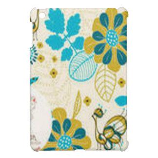 Beautiful floral swirls design iPad mini covers