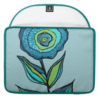 Beautiful floral tote bag MacBook pro sleeve
