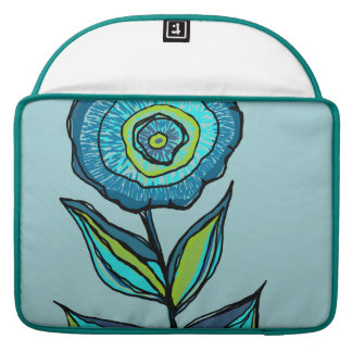 Beautiful floral tote bag sleeve for MacBook pro