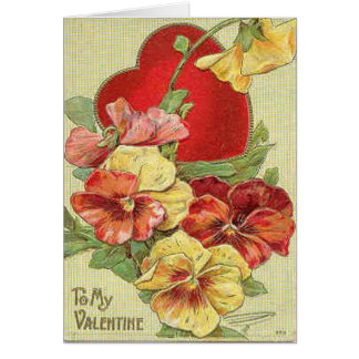 Beautiful Floral Valentine's Day Card