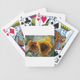 Beautiful Florida Sunflowers Bicycle Playing Cards