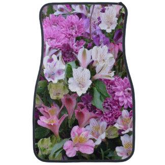 Beautiful Flower Bouquet Car Mat
