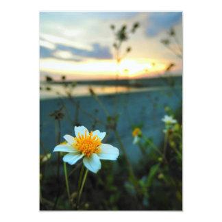 beautiful flower card