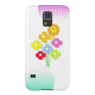 Beautiful flower case for galaxy s5