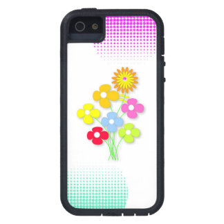 Beautiful flower cover for iPhone 5