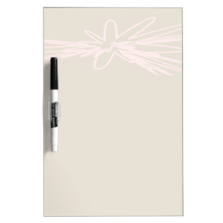 Beautiful Flower Dry Erase Board