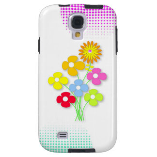 Beautiful flower galaxy s4 case