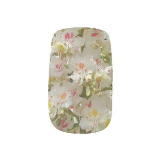 Beautiful Flower Minx Nail Art