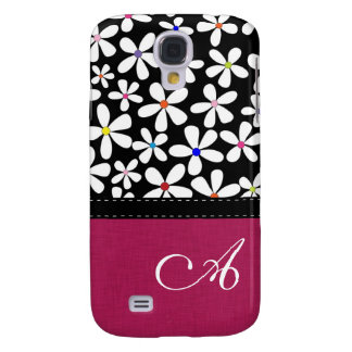 Beautiful Flower Monogram Customized Cover
