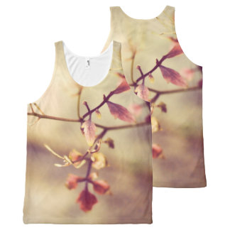 Beautiful flower, print all over All-Over print singlet