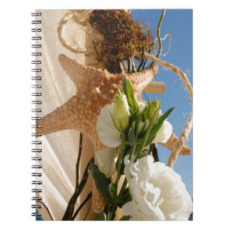 Beautiful Flower Scenery Spiral Note Books