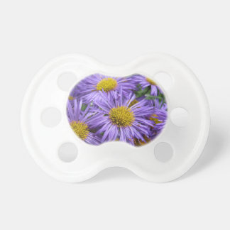 Beautiful flowers at every angle baby pacifiers