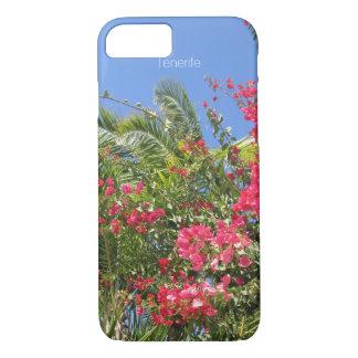 Beautiful Flowers & Palm Trees In Tenerife Island iPhone 7 Case
