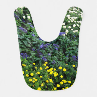 Beautiful Flowers Photo Baby Bib