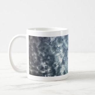 Beautiful fluffy white clouds coffee mugs