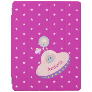 Beautiful Flying Saucers iPad Cover