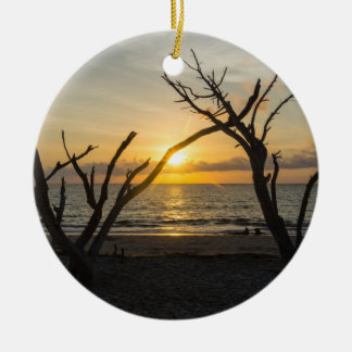 Beautiful Folly Morning Ceramic Ornament
