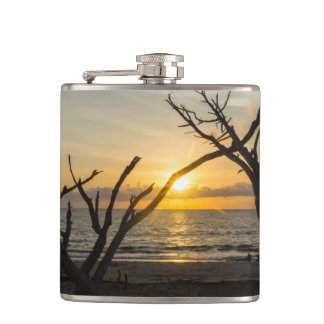 Beautiful Folly Morning Hip Flask