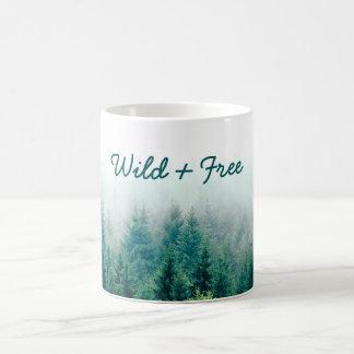 Beautiful Forest Wild and Free Coffee Mug