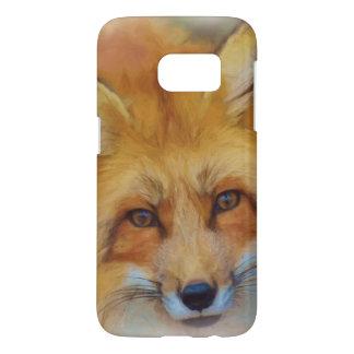 Beautiful Fox Face Watercolour