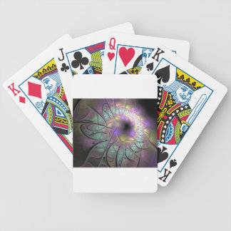 Beautiful fractal bicycle playing cards