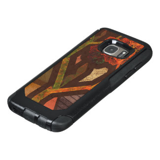 Beautiful Fractal Collage of an Origami Autumn OtterBox Samsung Galaxy S7 Case