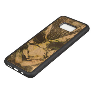Beautiful Fractal Deep Dreams of a Venetian Mask Carved Samsung Galaxy S8+ Case