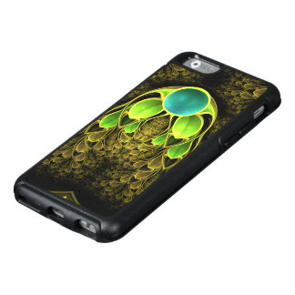 Beautiful Fractal Feathers of the Quetzal Bird OtterBox iPhone 6/6s Case