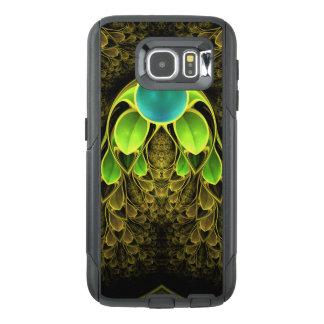 Beautiful Fractal Feathers of the Quetzal Bird OtterBox Samsung Galaxy S6 Case