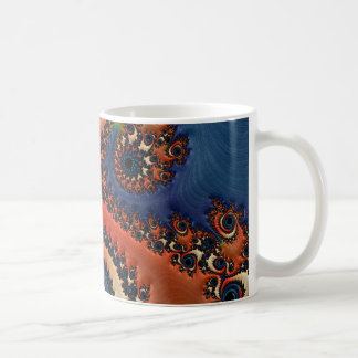 Beautiful Fractal Basic White Mug