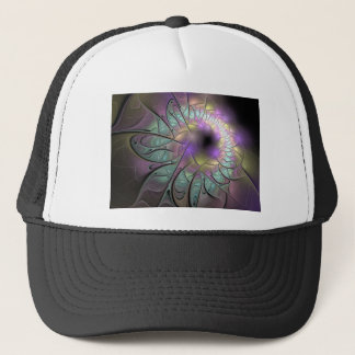 Beautiful fractal trucker hat