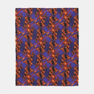 Beautiful Fractals Fleece Blanket