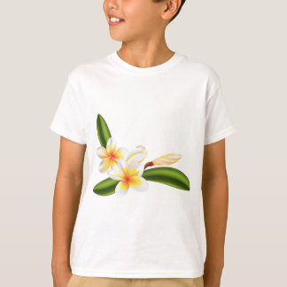 Beautiful frangipani or plumeria flowers T-Shirt