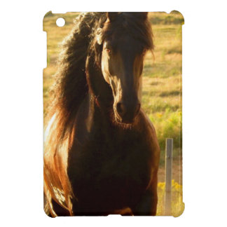 BEAUTIFUL FRIESIAN HORSE STALLION iPad MINI COVER