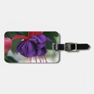 Beautiful Fuchsia Luggage Tag