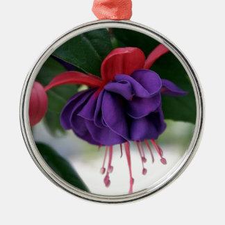 Beautiful Fuchsia Metal Ornament